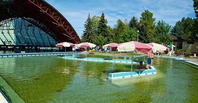 Termál medencék